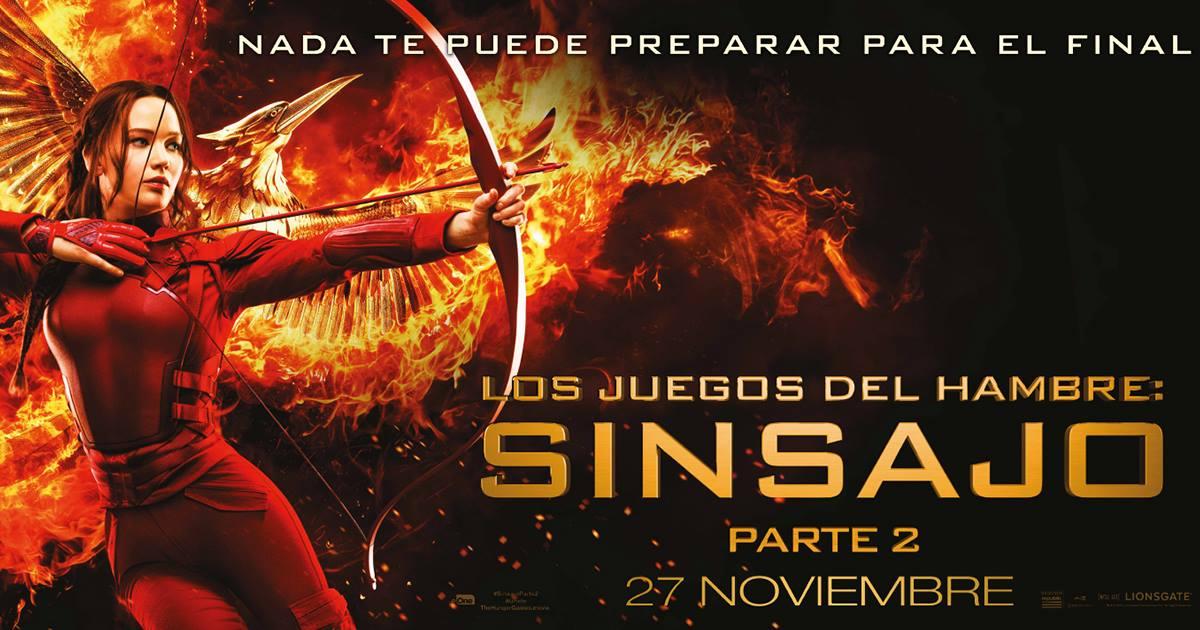 Cine Los Juegos Del Hambre Sinsajo Parte 2 Icmedianet