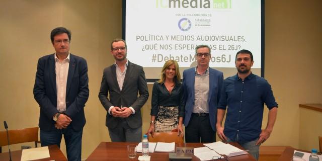 Esther Palomera y ponentes