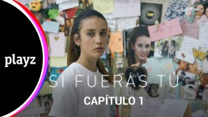 María Pedraza como Alba, la protagonista de la serie
